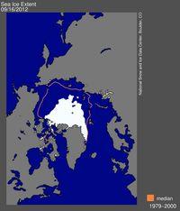 Sea ice extent